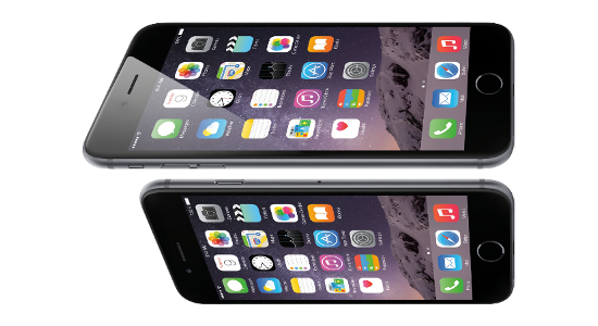 The iPhone 6 and iPhone 6 Plus features Apple Pay NFC technology.
