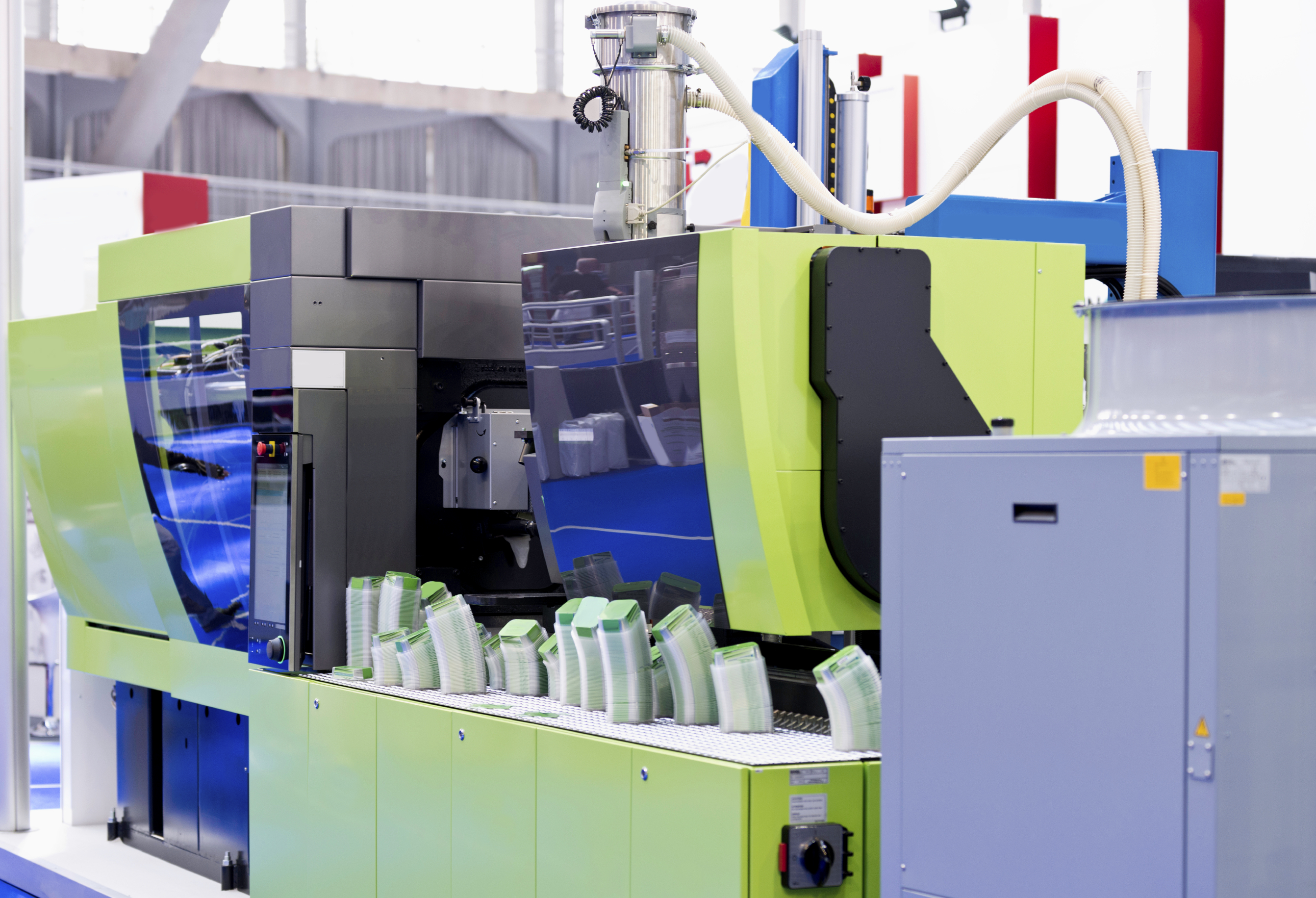 Electrical machine for plastic injection - image courtesy of Click Consulting.