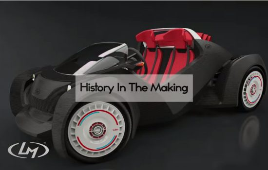3D-printed Car by Local Motors - The Strati