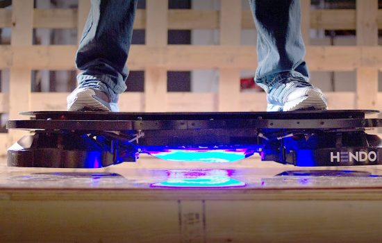 The Hendo Hoverboard - image courtesy of Hendo