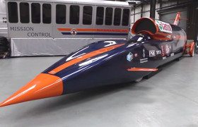 The Bloodhound SSC car video grab