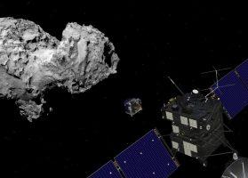 Rosetta and Philae at the comet