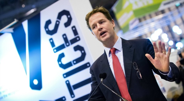 Nick Clegg has pledged to ban petrol and diesel cars by 2040 if his party comes to power