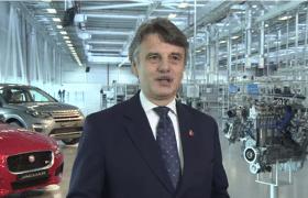 Jaguar opens new UK engine plant - video grab 280x180
