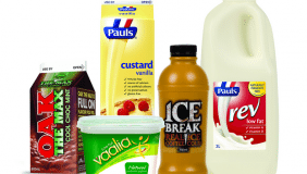 A range of Parmalat's existing Australian brands - image courtesy of Parmalat