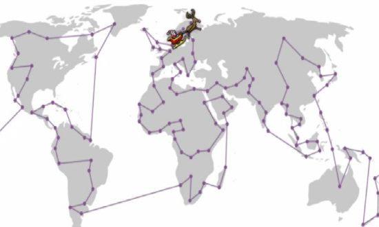 IFS Santa's Route