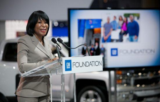 GM Foundation President Vivian Pickard