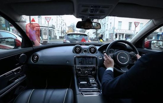 JLR 360 virtual urban windscreen