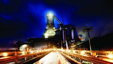 Tata Steel Blast Furnace - South Wales