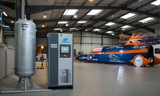 Atlas Copco supports BLOODHOUND