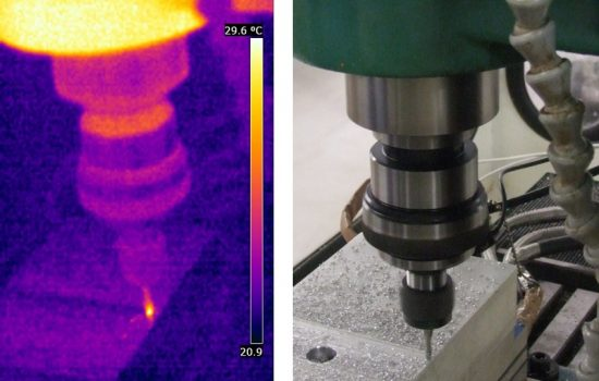 Infrared Image Machine Tool