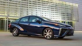 The 2016 Toyota Mirai - image courtesy of Toyota