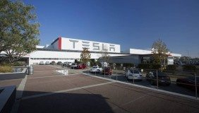 The Tesla factory in Palo Alto, California - image courtesy of Tesla.