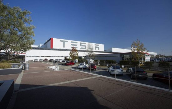 The Tesla factory in Palo Alto, California - image courtesy of Tesla.