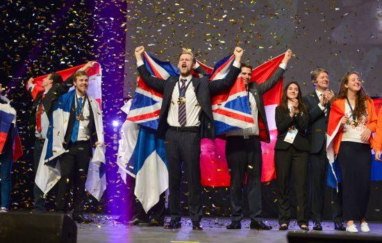 Team UK at EuroSkills 2014