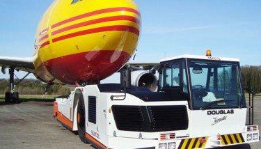 The Douglas TBL400 aircraft Tractor - image courtesy of Douglas Equipment