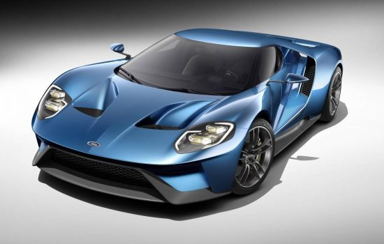 The new Ford GT will commence production in late 2016.