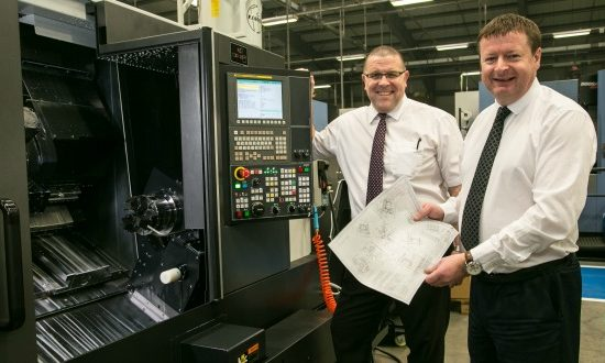 Image from L to R: Collin Gibson, director of product development & Keith Bendelow, Group MD (both GT Group).