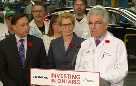 Honda has announced it will invest $857m in its Ontario plant.