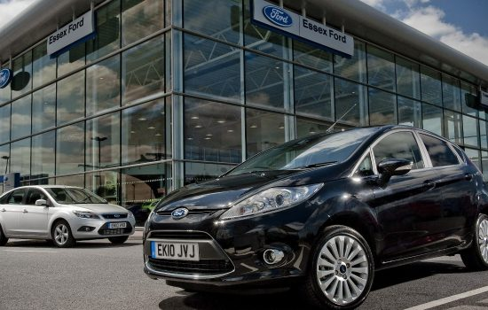 The Ford Fiesta and Ford Focus, the no.1 and no. 2 UK best selling cars of 2014