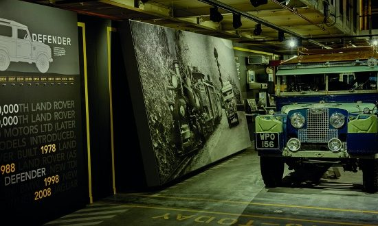 Land Rover's Defender Celebration Line.