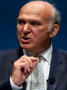 Secretary of State for Business, Innovation and Skills, Vince Cable