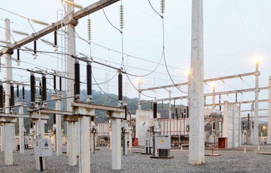 A 220-kilovolt (kV) substation similar to those which ABB will upgrade. Image courtesy of ABB.