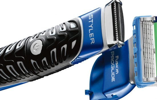 The Gillette Fusion Pro Glide Styler product - image courtesy of Gillette.