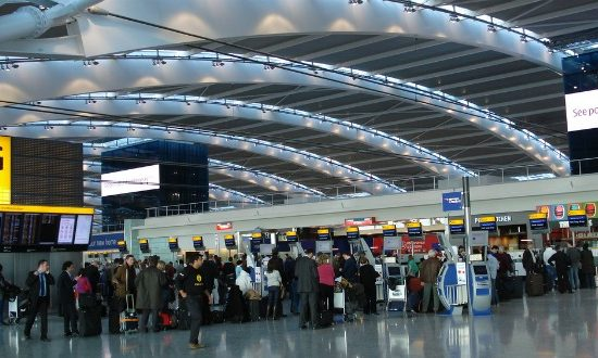 According to the survey, 79% of companies backed Heathrow expansion.