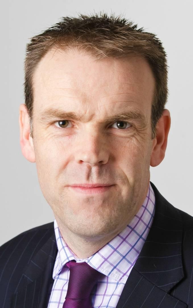 Gareth Stace, new director, UK Steel.