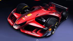 Ferrari's f1 concept car has set toungues wagging