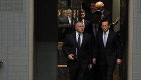 Tresurer Joe Hockey and Prime Minister Tony Abbot - image courtesy of Joe Hockey.