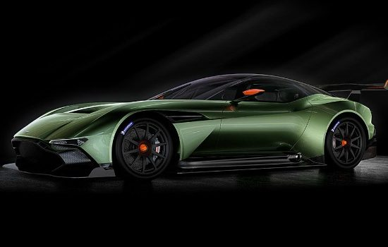 The Aston Martin Vulcan has been styled entirely in-house by the company's design team.