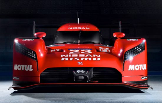 The Nissan GT-R LM Nismo supercar - image courtesy of Nissan.