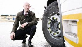 Angus Webb's start-up, Dynamon, combines big data from vehicles with dynamic modeling and statistics to provide hauliers with tailored recommendations on the products that will help them make the greatest savings.