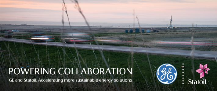 GE and Statoil have created a joint technology-focused program to pursue industrial solutions designed to reduce environmental impact of oil and gas production.