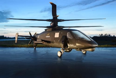 The 'revolutionary' new Sikorsky S-97 Raider helicopter