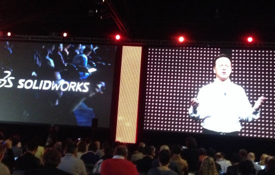 Gian Paolo Bassi, CEO, SolidWorks, Dassault Systèmes at SolidWorks World 2015, Phoenix, Arizona