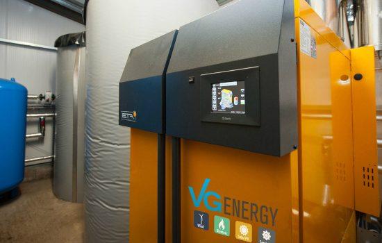 VG Energy Biomass Boiler