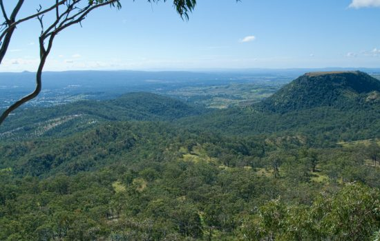 A view from the top of Toowoomba - image courtesy of DFS