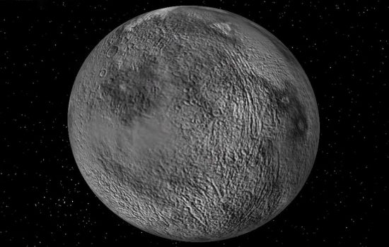 An image or the Ceres dward planet courtesy of NASA