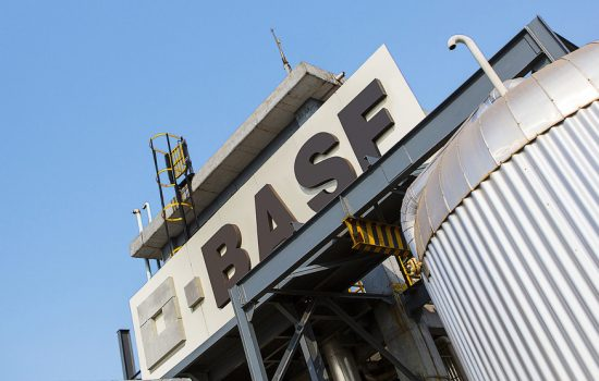 A BASF plant which is involved in the production of performance chemicals - image courtesy of BASF
