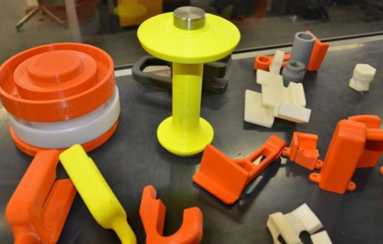 3D Printed Tools Used By Volvo Trucks At Their Lyon Plant. Image Courtesy of Stratasys