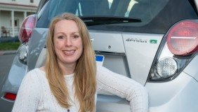 Lead Development Engineer for Battery Electric Vehicles, Trista Schieffer.