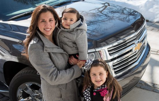 Jessica Moreno, a Vehicle-to-Vehicle Security Credential Management program manager, is helping to shape the technology cars use talk to each other when avoiding crashes and other unwanted situations on the road
