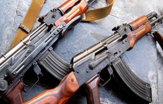 The Kalashnikov rifle - a symbol of Russian arms exports. Image courtesy of Kalashnikov Group