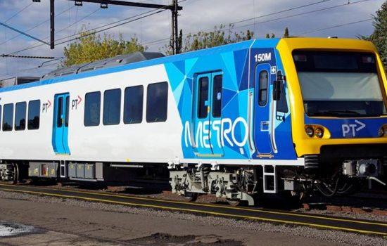 An existing X'Trapolis train in Australia - image courtesy of Alstom.