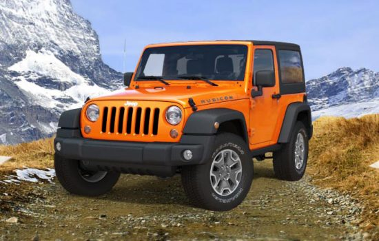 Jeep Wrangler - image courtesy of Jeep