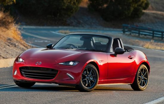 The new Mazda MX-5 has commenced production in Japan. Image courtesy of Mazda.