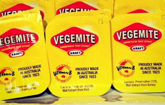 Vegemite snack sized packets such as the one which is alleged to have contained a New Zealand dollar coin - image courtesy of Betsy Weber.